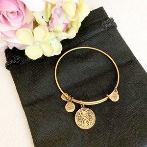 Alex and Ani Path of Life Energy Goldtone Bracelet